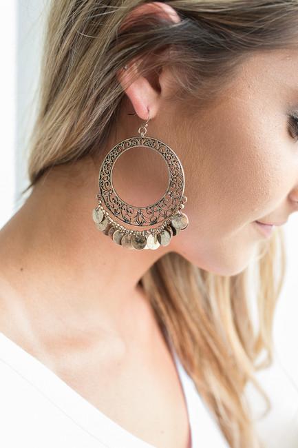 St. Tropez Hoop Earrings - Gold