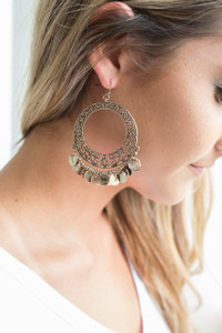 St. Tropez Hoop Earrings - Gold