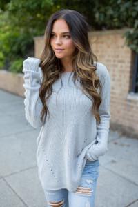 Home Sweet Home Sweater - Grey