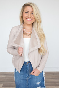 BB Dakota: Gracelyn Jacket - Taupe