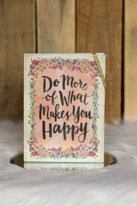 Inspirational Floral Journal - Multi