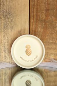 Pineapple Trinket Dish - Gold