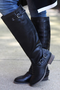 Outlaw Boots - Black - FINAL SALE