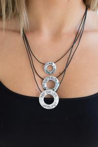 Good Works Potter Necklace - Silver - FINAL SALE