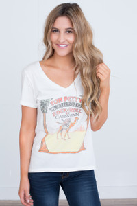 Tom Petty and the Heartbreakers Band Tee - Off White