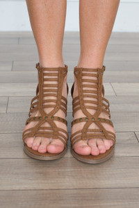 Coconuts By Matisse: Essence Sandal - Saddle - FINAL SALE