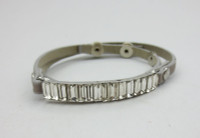 Crystal Wrap Bracelet - Grey