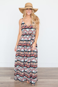 Jack By BB Dakota: Southwest Tie Dye Dress - Multi - FINAL SALE