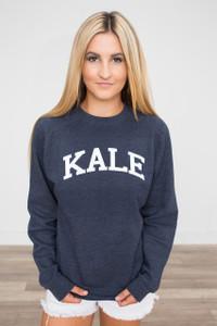 Suburban Riot Kale Sweatshirt - Navy