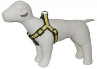 Pembroke Polka Dot Dog Harness-Yellow
