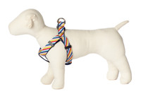 Bubble Gum Dog Harness - Mumbo Jumbo on Blue