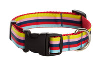 Bubble Gum Dog Collar - Yummy Gummy on Red