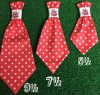 Dog Neck Ties - Hot Pink Polka Dot