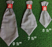Dog Neck Ties - Red Gingham