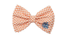 Southern Charm Collection - Checks Orange - Bow tie
