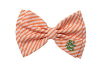 Southern Charm Collection - Orange Stripe - Bow Tie
