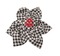 Southern Charm Collection - Checks Midnight - Blossom