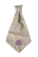 Southern Charm Collection - Checks Ash - Neck Tie