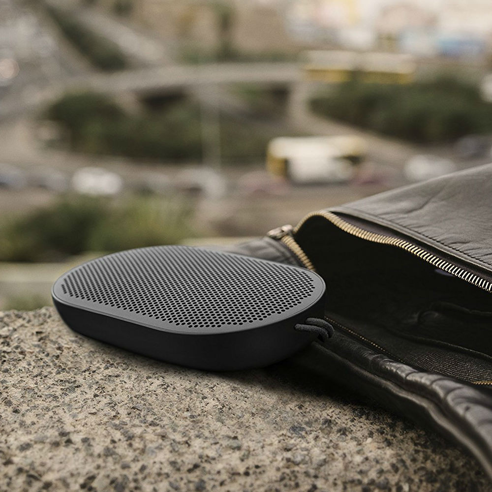 b o play beoplay p2 bluetooth speaker black beoplay. Black Bedroom Furniture Sets. Home Design Ideas