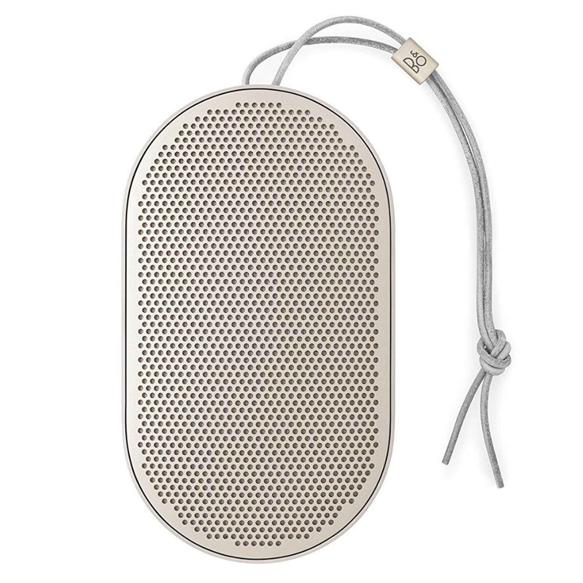 b o play beoplay p2 bluetooth speaker sand stone. Black Bedroom Furniture Sets. Home Design Ideas