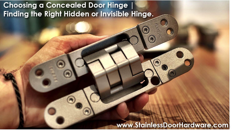 Concealed Door Hinge - Modern Hardware
