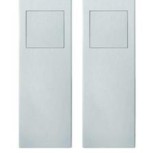 Modern Pocket Door Cup Pull - FSB 4255 09006