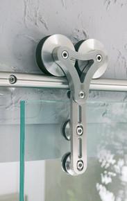 Modern Barn Door Hardware - MWE Duplex