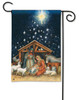 Holy Night BreezeArt Christmas Nativity Garden Flag