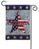America Patriotic Garden Flag by BreezeArt