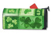 Shamrock Collage Mailwraps Magnetic Mailbox Cover