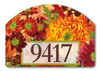 Fall address sign