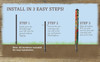 Easy to Install Peace Poles