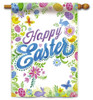 Happy Easter Decorative House Flag