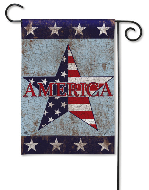 America Patriotic Garden Flag by BreezeArt