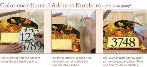 Step 1 - How to Apply Home Address Numbers