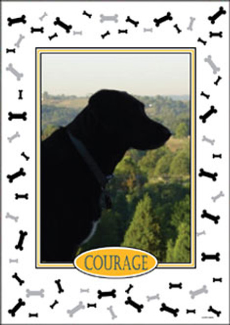 Personalized Pet Photo Flag: Dog -  House Size 30 x 40