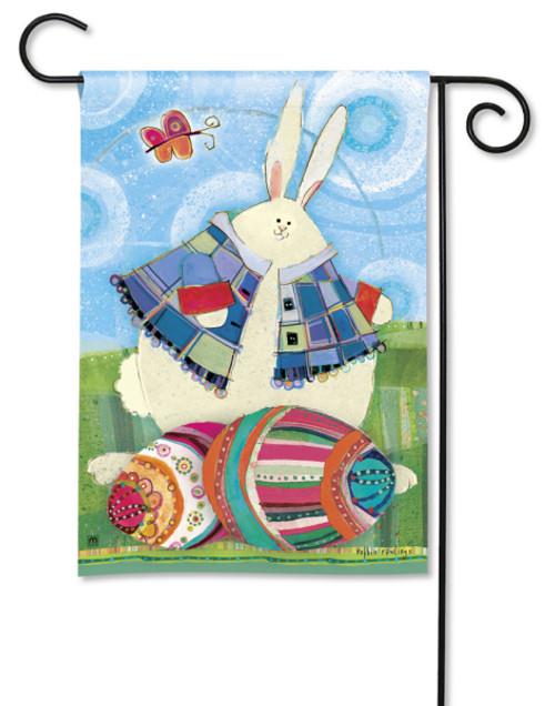 "Funny Bunny Easter Garden Flag - 12.5"" x 18"""