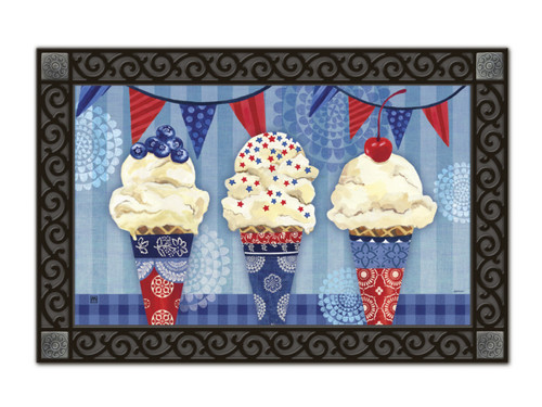 Scoops of Summer Doormat by MatMates