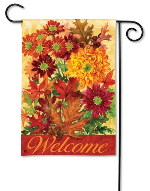 "Autumn Bouquet Fall Garden Flag - 12.5"" x 18"""