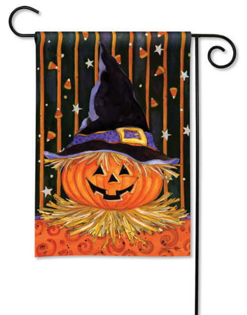 "Jack in the Hat Halloween Garden Flag - 12.5"" x 18"""