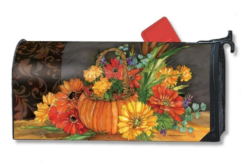 Autumn Tapestry Magnetic Mailbox Cover