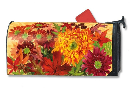 Autumn Bouquet Magnetic Mailbox Cover