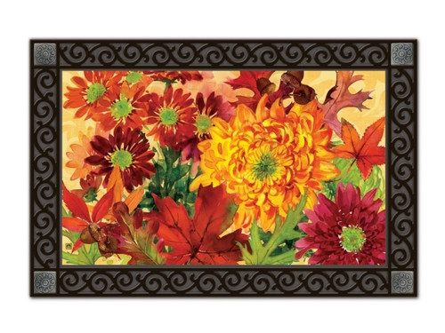 Autumn Bouquet Doormat by MatMates