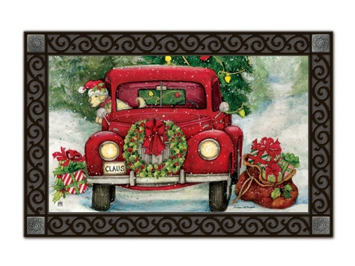 Bringing Home the Tree Doormat by MatMates