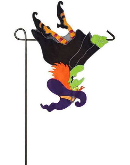 Unique 3-D Halloween garden flag