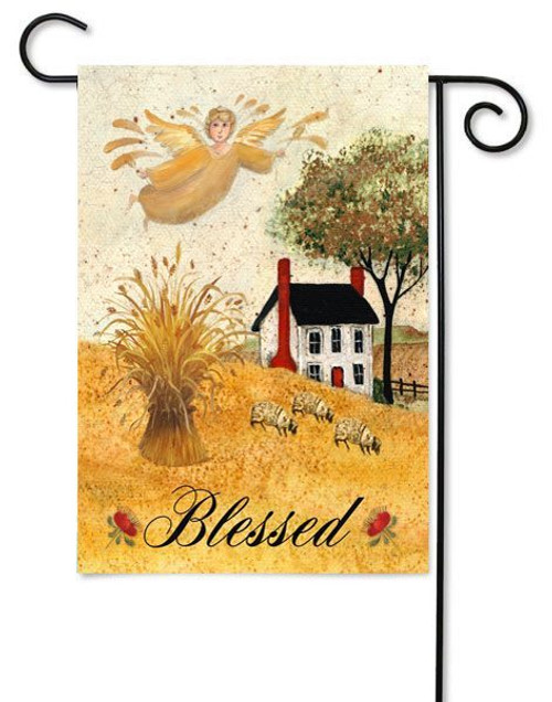 "Blessed Farm Toland Garden Flag - 12.5"" x 18"""