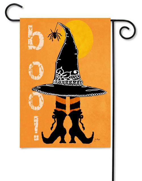 """Boo Boots Toland Garden Flag - 12.5"""" x 18"""""""