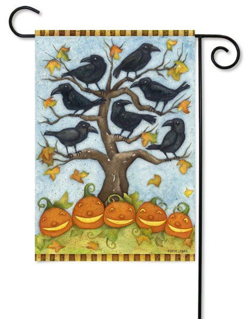"Crows N Jack Toland Garden Flag - 12.5"" x 18"""