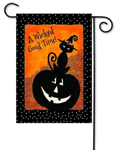"Let's Get Wicked Toland Garden Flag - 12.5"" x 18"""