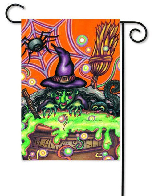 "Magic Spell Toland Halloween Garden Flag - 12.5"" x 18"""